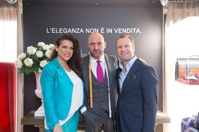 Amalia, Luca Paolorossi, Stefano Pugnali - Foto Michele Dell'Utri