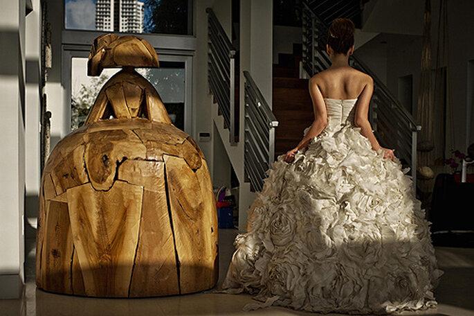 El álbum de bodas se convierte en el mejor recuerdo para los novios. Foto: El Marco Rojo