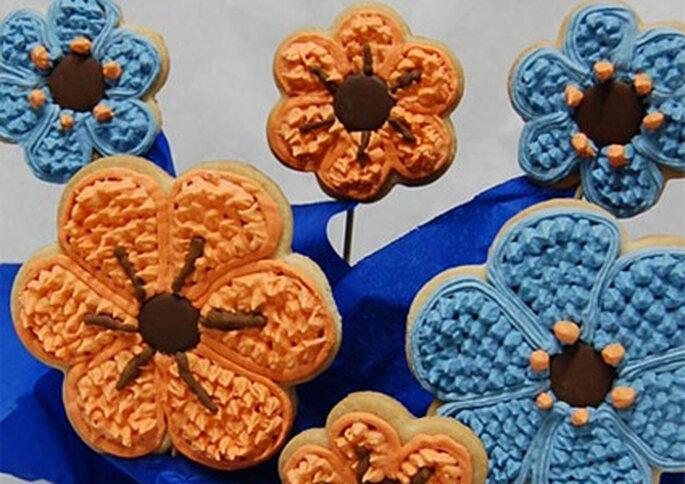 En Crocante tienen varios modelos de galletas entre los que puedes escoger.