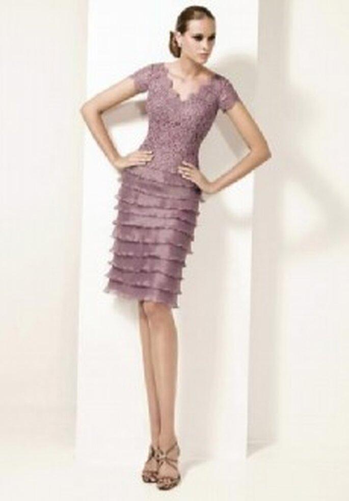 Colección de vestidos de cóctel con abrigo Pronovias 2011