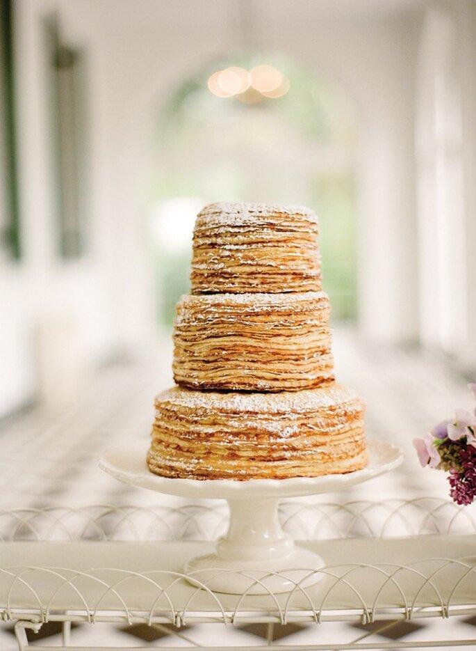 Los mejores pasteles de boda con estilo rústico - Foto Eric Kelley