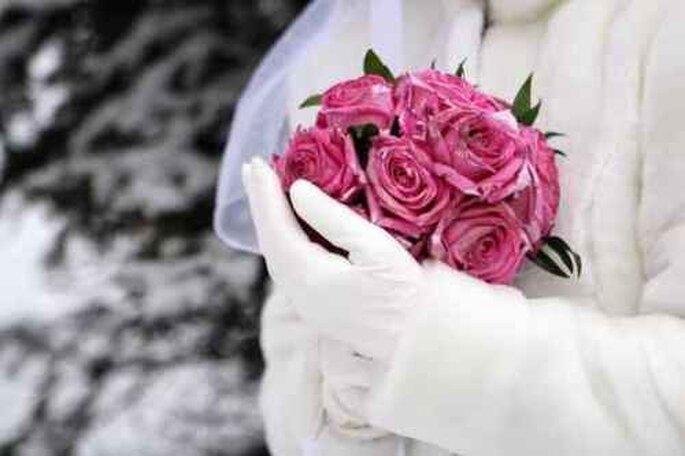 Mariage en hiver : quoi de plus romantique ? - Crédit photo : Xavier Plantefol