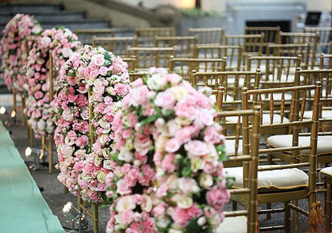 Decora tú misma las sillas de la boda. Foto: Boutique de tres_Deco