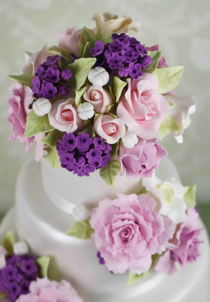Spring wedding cake - Cakes Haute Couture