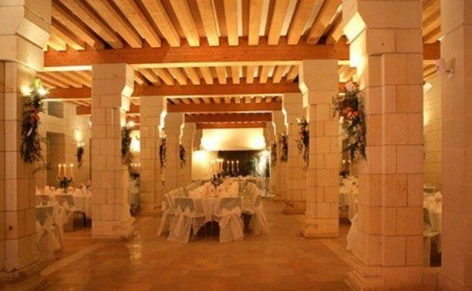 Choisir le lieu de réception de son mariage : une des premières choses à faire - Photo : 1 amour, 2 perles