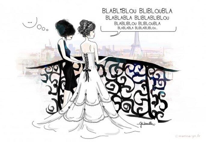 Illustration - Va-t-elle me comprendre - Marina Gri