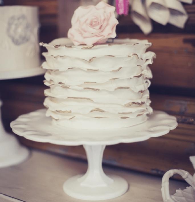 Los mejores pasteles de boda con estilo rústico - Foto FJC Photo