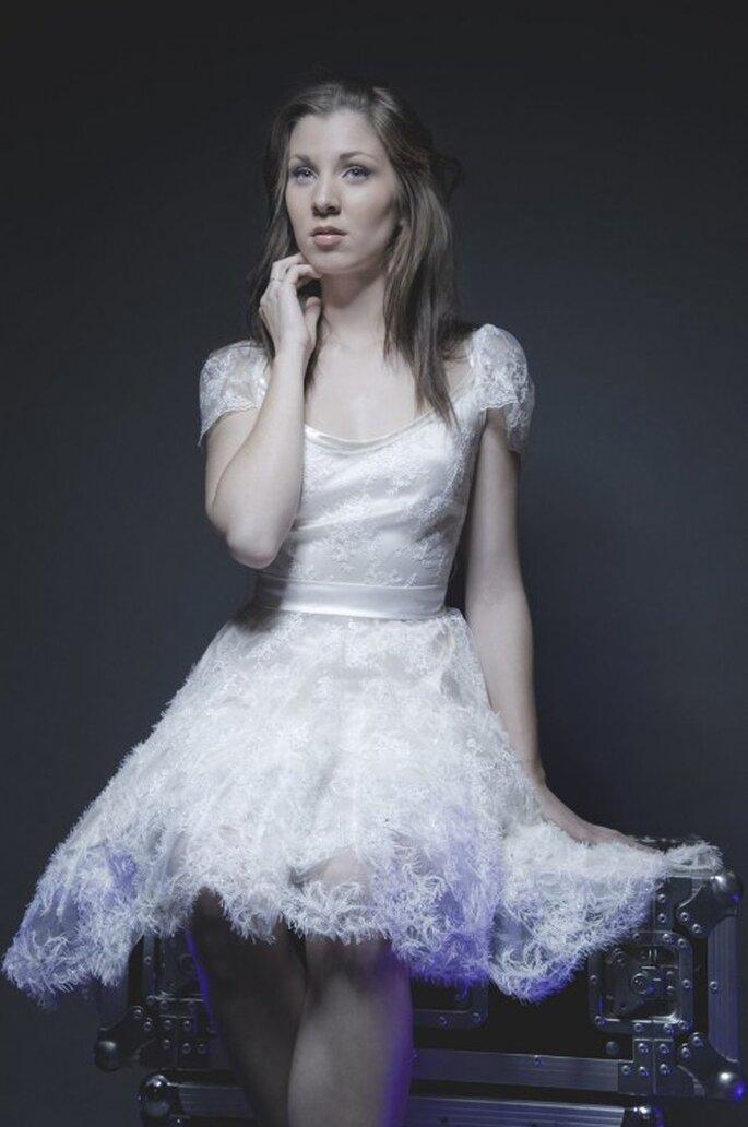 Robe de mariée courte Gwanni 2014