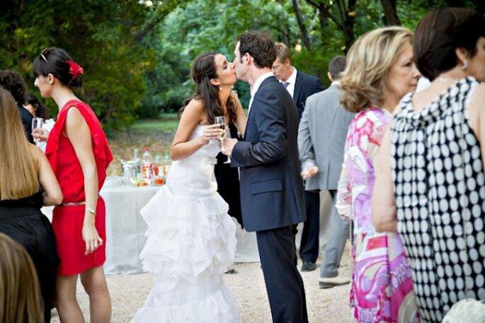 Cocktail dînatoire : pour une soirée plus informelle ! - (C) Trendy Wedding