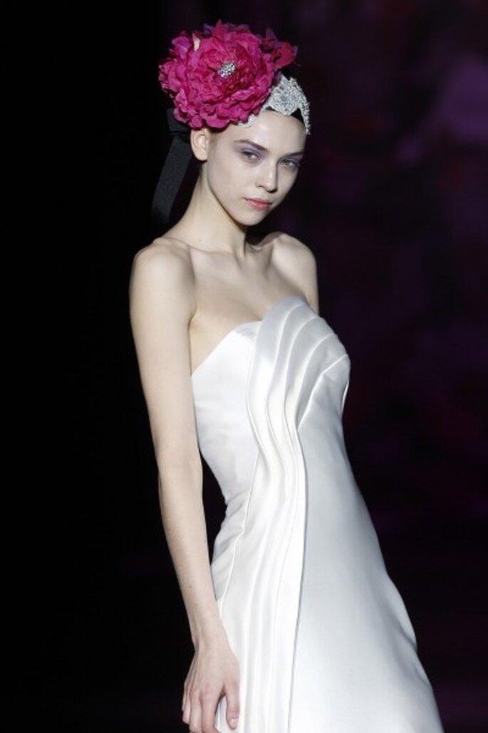 Vestido de novia de Miquel Suay 2013. Foto: Ifema