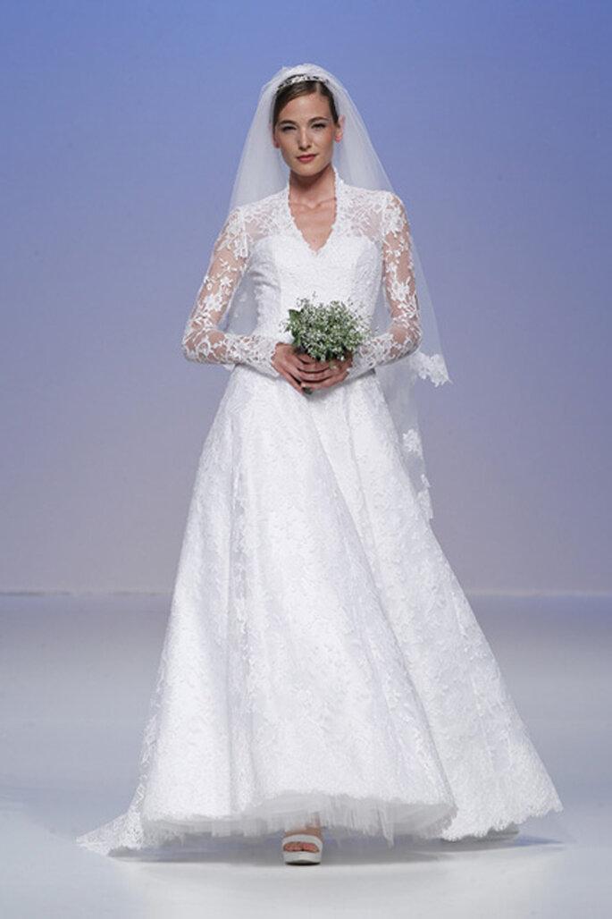Robe de mariée romantique inspiration Kate Middleton