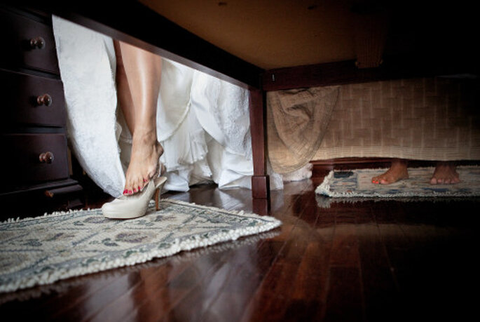 Se préserver quelques jours permet de mieux se retrouver après le mariage. Photo : Nuno Palha