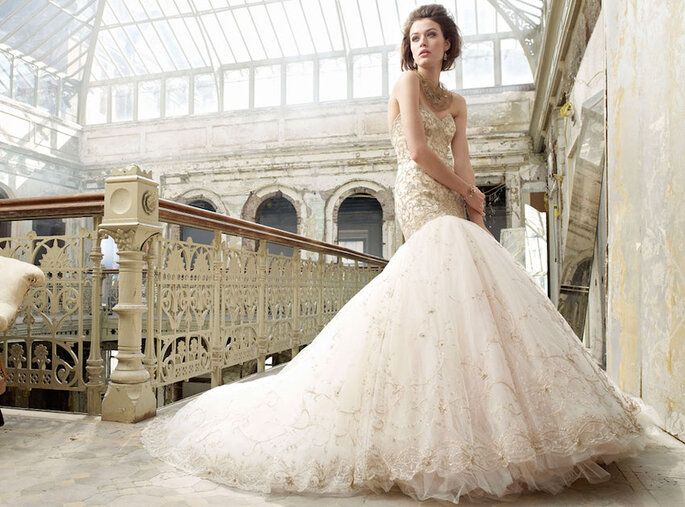 Las tendencias más grandiosas en vestidos de novia 2015 - JLM Couture