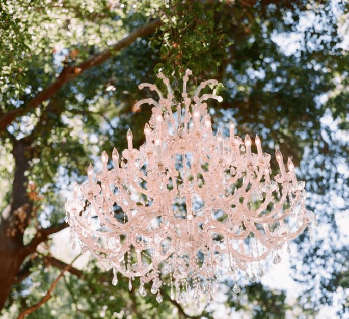 Candélabres pour la décoration de votre mariage - Photo Elizabeth Messina