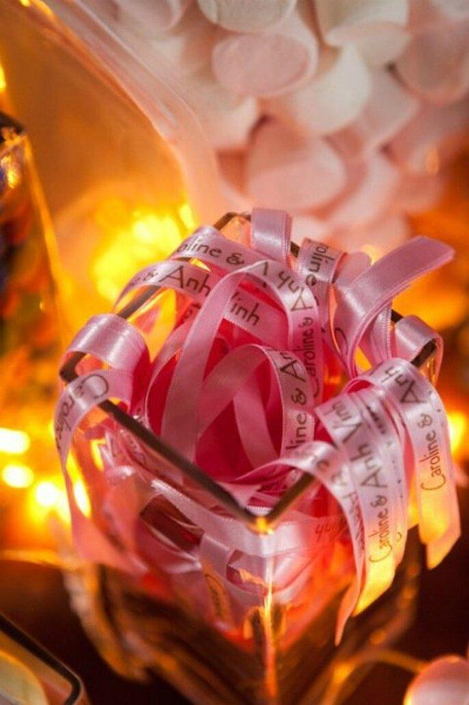 Buffet de mariage : misez sur la décoration ! -Crédit photo: MS AND JO; Etant Donné