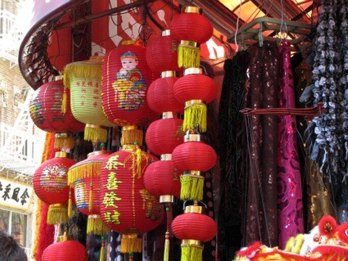 Ein Highlight der Hochzeitsreise nach New York: China-Town. Foto: Rainer Sturm / pixelio.de