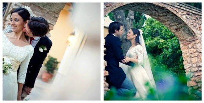 Santiago y Emi recién casados - Fotografía: Jesús Ortiz