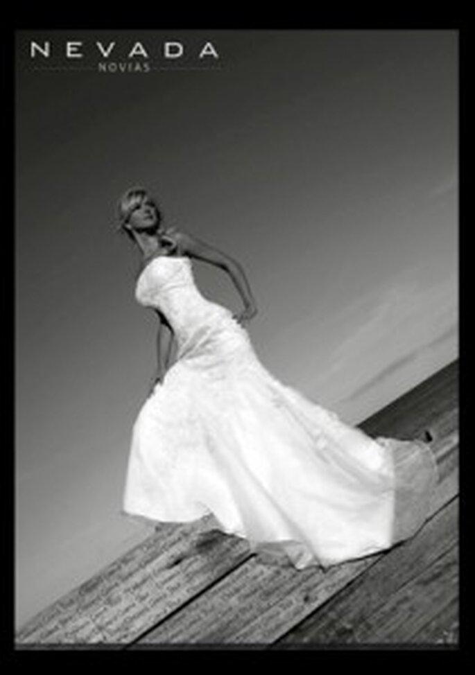 Vestidos de líneas favorecedoras para novias chilenas