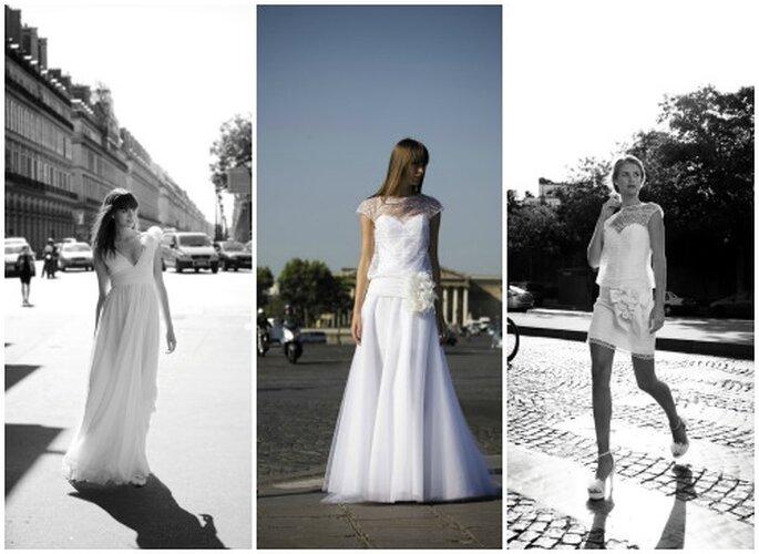 """Proposte chic nella linea """"Le Parisienne"""".Cymbeline Collezione Sposa 2013. Foto: www.cymbeline.com"""