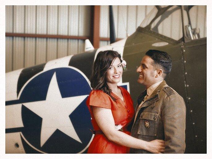 """Como en la clásica película """"Top Gun"""" Foto: Adolfo Lopez"""