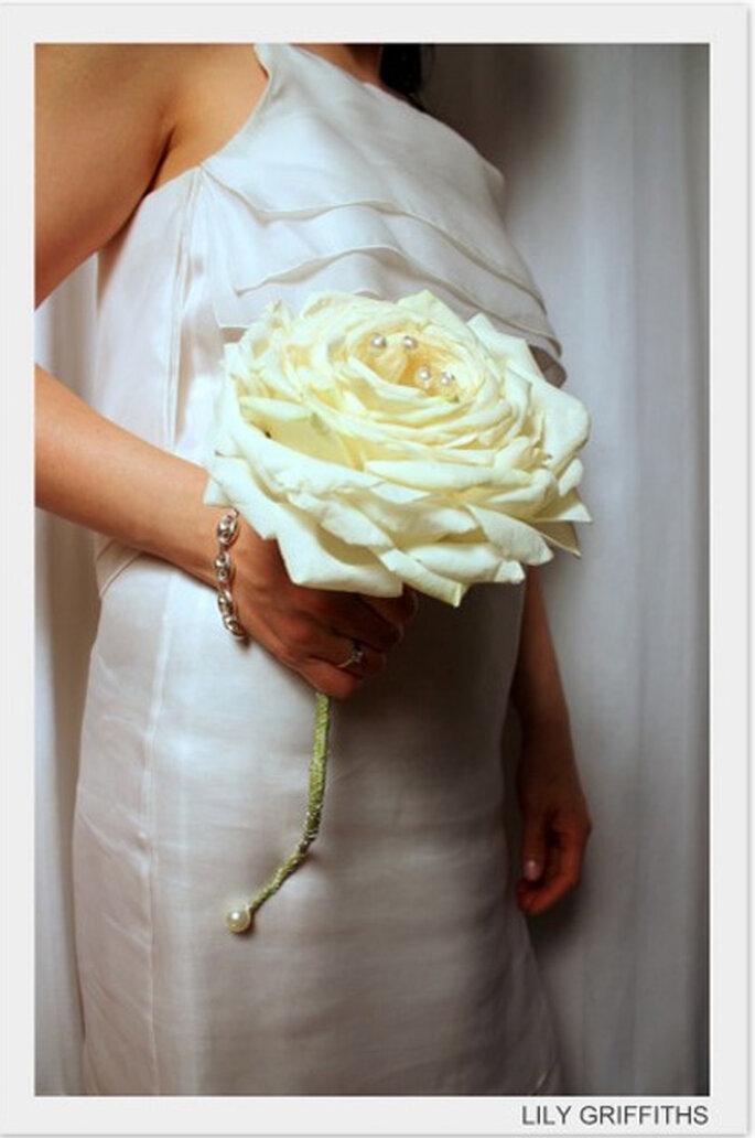 Coordonner son bouquet de mariée avec sa robe