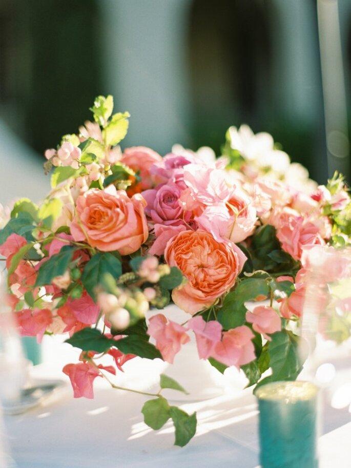 Los colores perfectos para decorar una boda en 2015 - Foto Ryan Ray