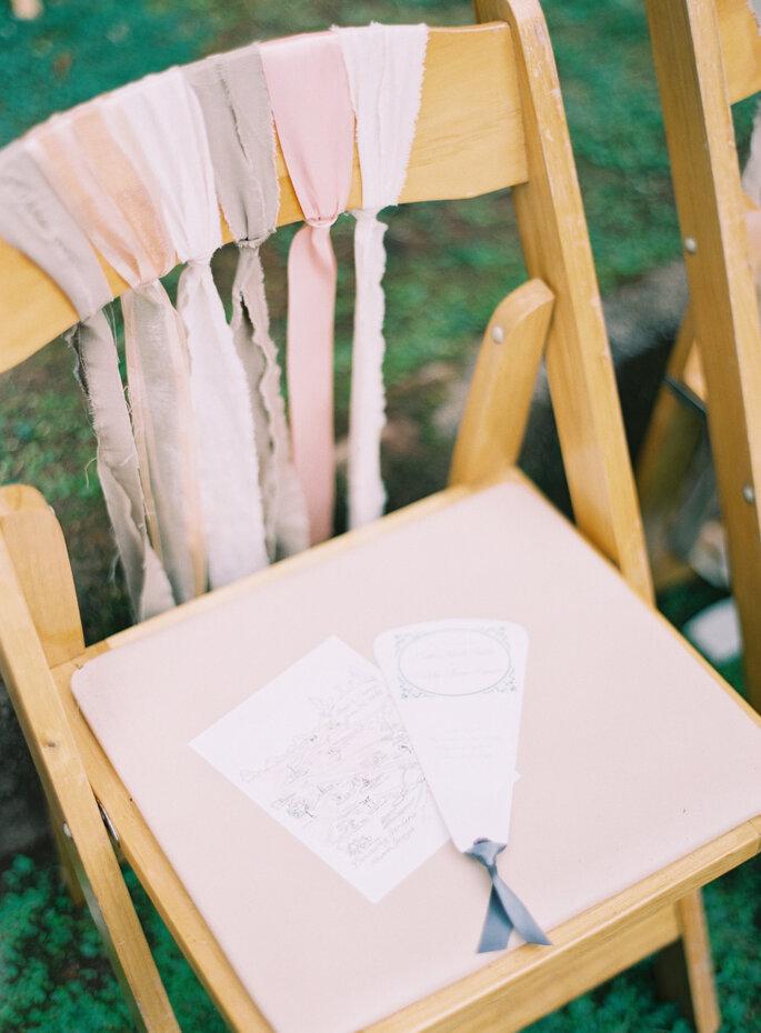 Originales ideas para decorar sillas - Odalys Mendez Photography