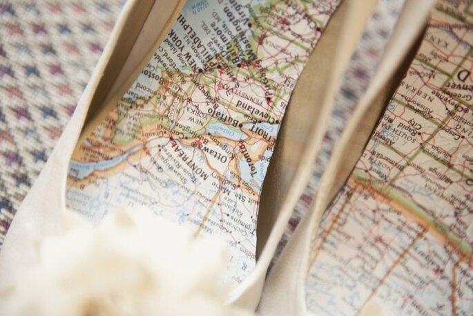 Decoración de boda inspirada en viajes - Foto Love Me Do Photography