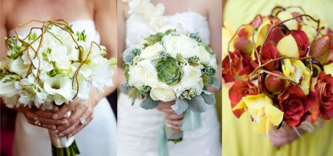 Ramo de novia con toques exoticos - Foto Haute Horticulture
