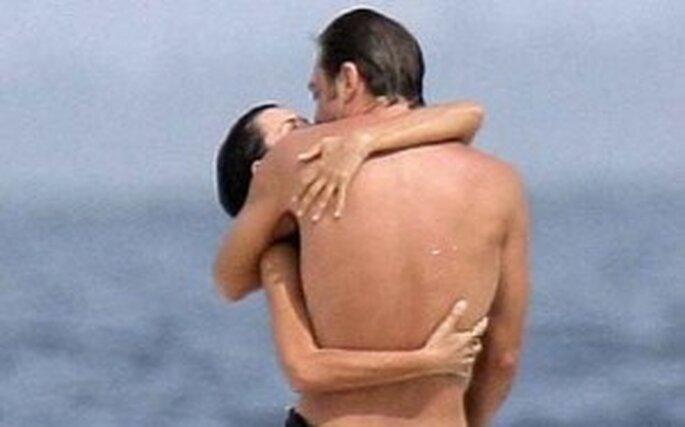 Penélope Cruz y Javier Bardem disfrutando de unos días en la playa
