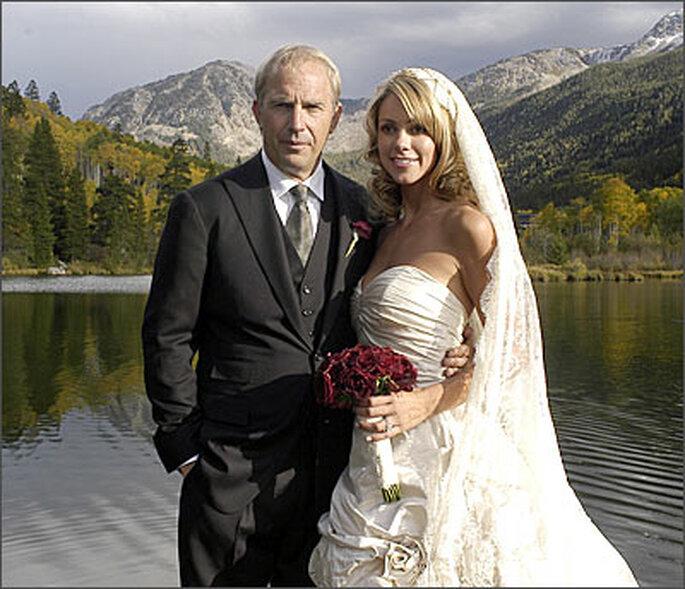 Kevin Costner & Christine Baumgartner
