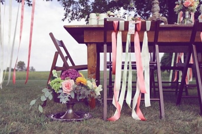 Décoration de mariage corail : top tendance ! - Source : http://pinterest.com/pin/13570502/