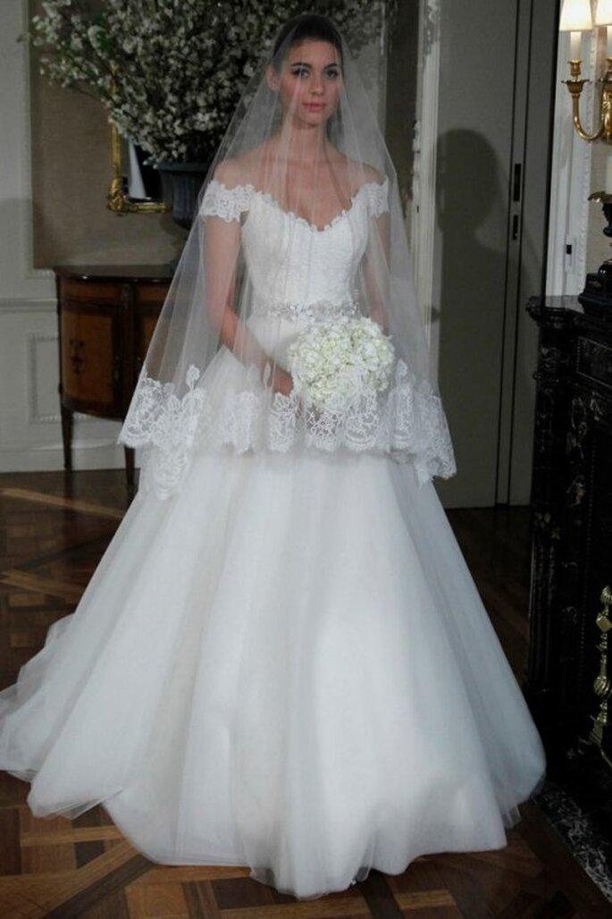 El vestido de novia de Temperance Brennan de la serie Bones - Foto Romona Keveza Facebook