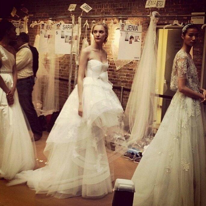 Marchesa, collection de robes de mariée 2015. Photo: réseaux sociaux