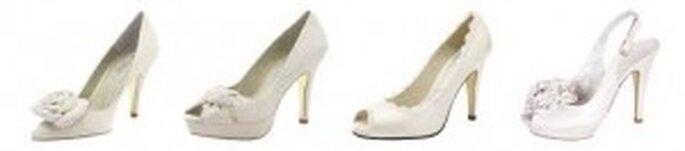 Hermosos y elegantes peep-toe con plataforma: perfectos para ganar altura sin resignar comodidad ni elegancia