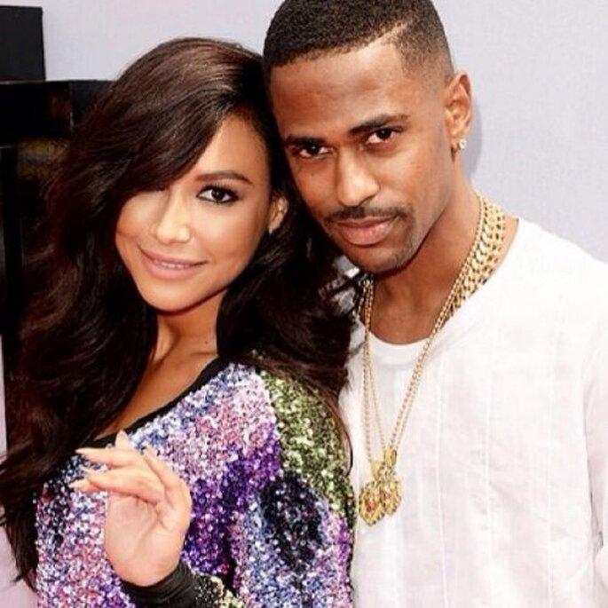 Naya Rivera anunció su compromiso con Big Sean - Foto Naya Rivera Instagram