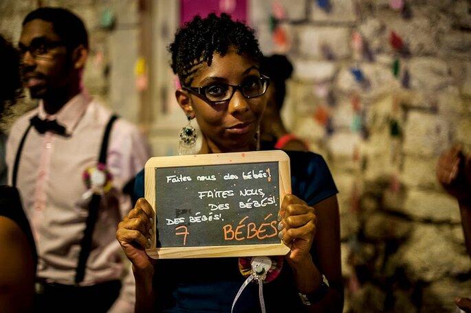 Des dpetits mots pour les mariés - photo : Sylvain Le Lepvrier photographe