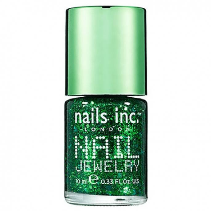 Barniz con destellos metálicos en color verde esmeralda - Foto Sephora
