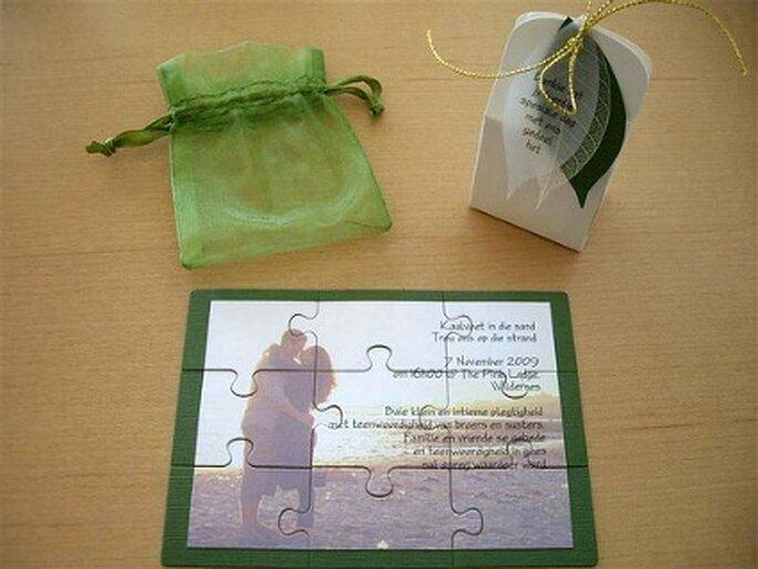 Tarjetas creativas y originales para la boda