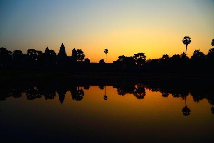 Luna de miel en Siem Reap, Camboya