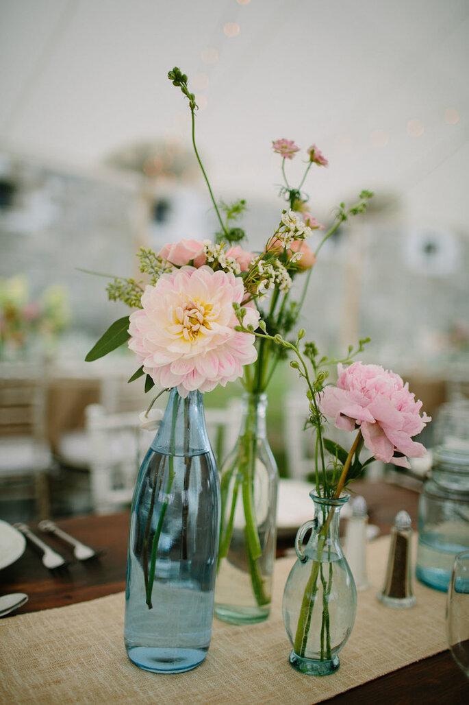 Cómo decorar una boda rústica en 2015 - Lisa Rigby Photography