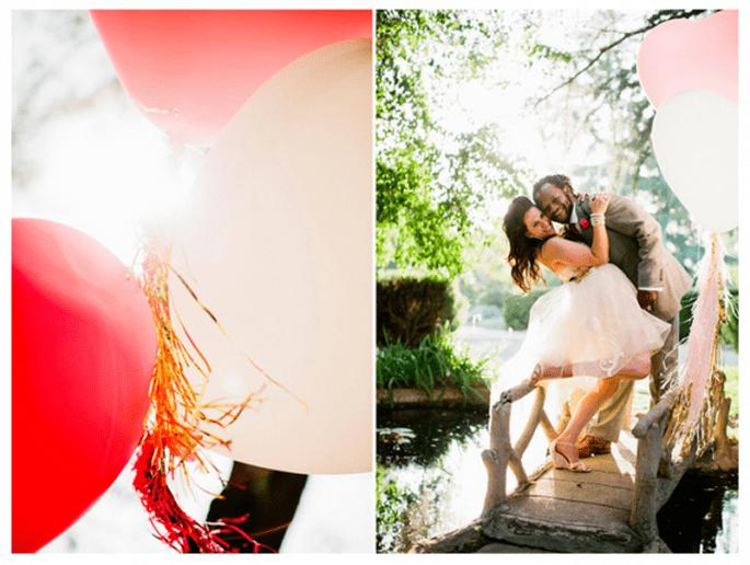 Decoración de boda con globos - Foto Jacob Mariano
