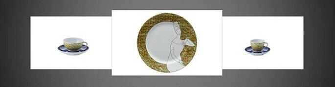 Jeanne Modigliani brand, una linea che unisce agli oggetti da tavola la storia dell'arte. Foto: products.richardginori1735.com