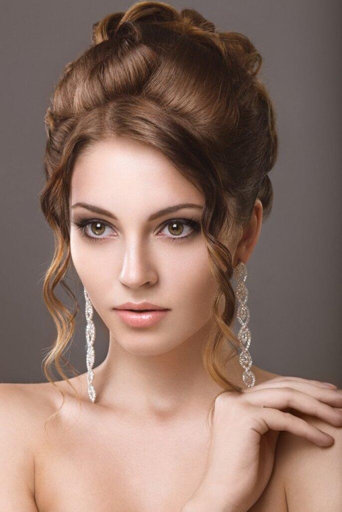 Souvent coiffure204: coiffure mariage visage rond PZ61