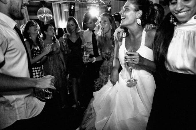 La musique, l'ingrédient indispensable pour égayer un mariage d'hiver ! - Photo Nuno Palha