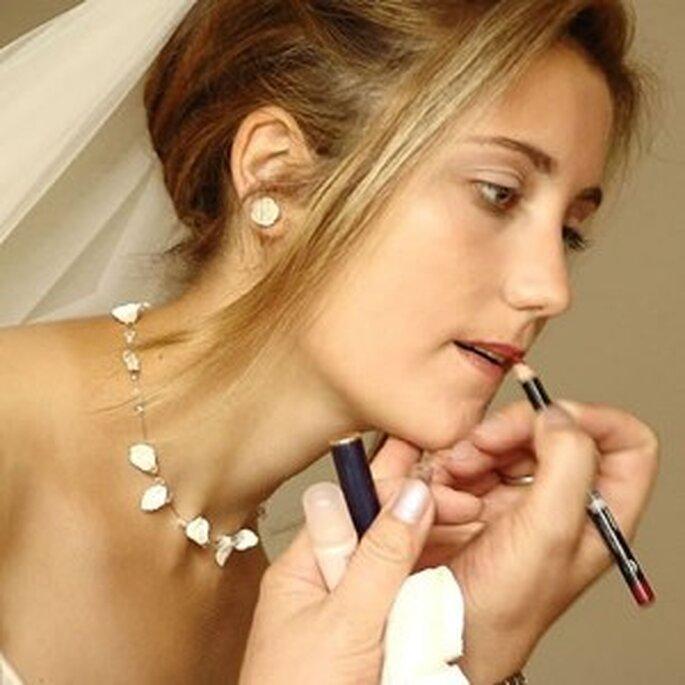 """Los labios en un tono discreto te ayudarán a conseguir el efecto """"cara lavada"""""""