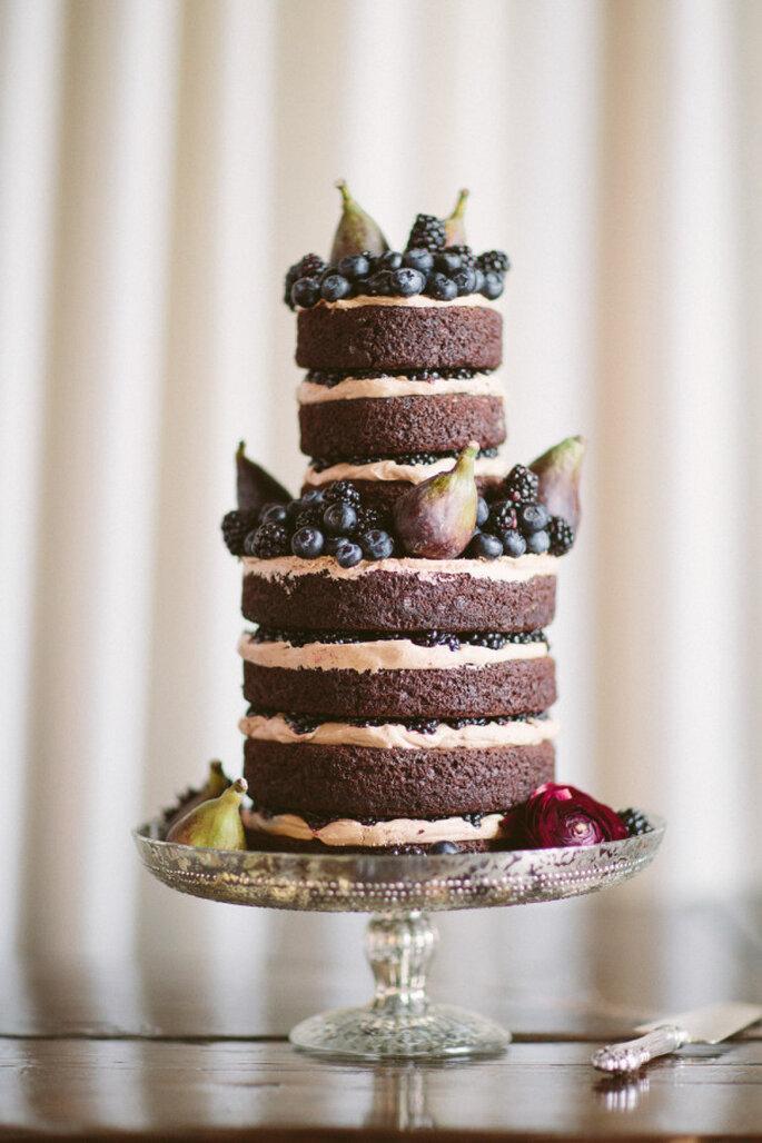 Pastel de chocolate - ALLAN ZEPEDA