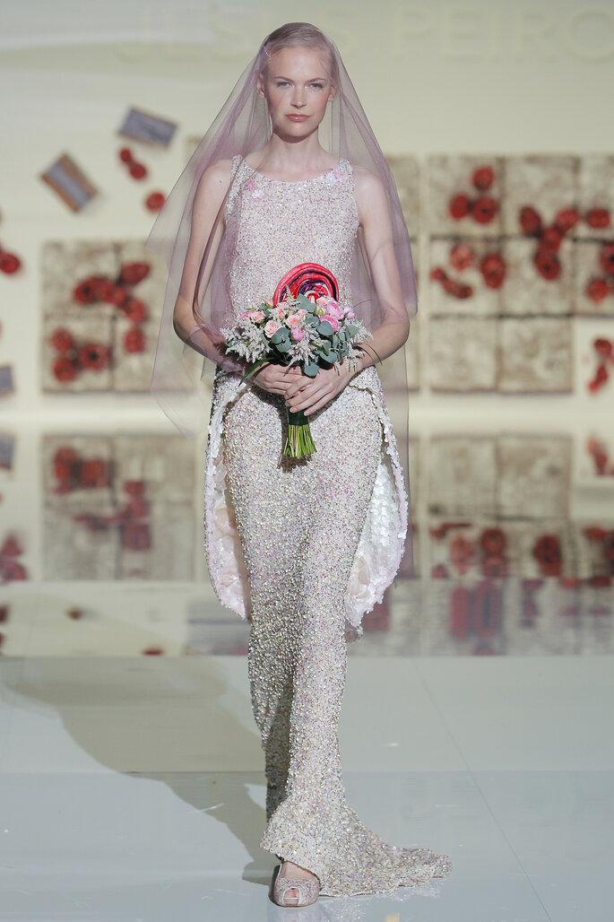 Foto: Jesús Peiró en Barcelona Bridal Fashion Week