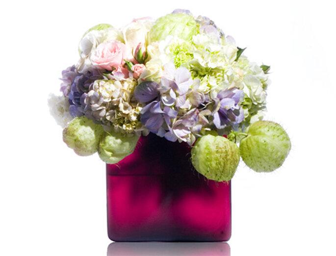 Elegante bouquet con variedad de flores - Foto: Ramos Boutique Floral