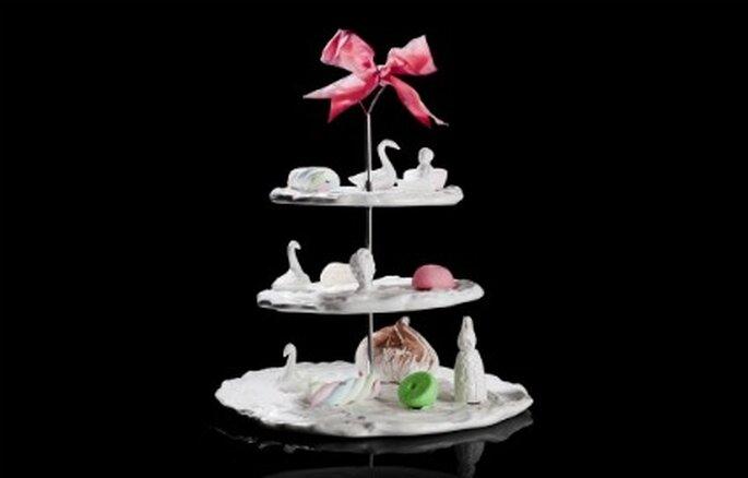 A sweet paradise 3 tier cake stand - Undergrowthdesign.com